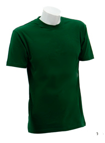 Bottle Green Soft Cotton Tee (160gsm)