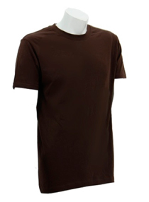 Chocolate Soft Cotton Tee (160gsm)