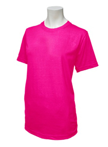 Fuschia Soft Cotton Tee (160gsm)