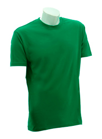Kelly Green Soft Cotton Tee (160gsm)