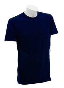 Navy Blue Soft Cotton Tee (160gsm)