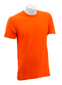Orange Soft Cotton Tee (160gsm)