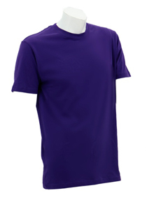 Purple Soft Cotton Tee (160gsm)