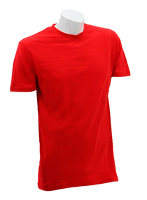 Red Soft Cotton Tee (160gsm)