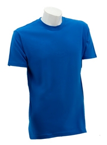 Royal Blue Soft Cotton Tee (160gsm)