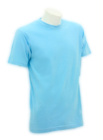 Sky Blue Soft Cotton Tee (160gsm)