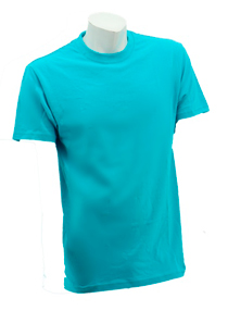 Turquoise Soft Cotton Tee (160gsm)