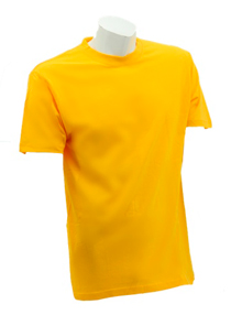 Yellow Soft Cotton Tee (160gsm)