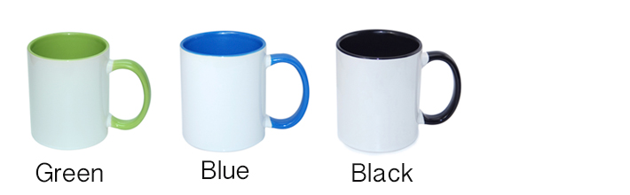 Inner & Handle Colour Mug