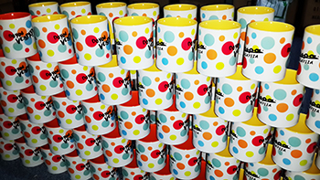 Vespa Colour Mugs
