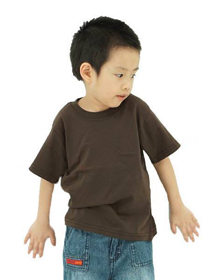 Chocolate Kids Soft Cotton Tee (Short Sleeve)