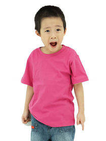 Fuschia Kids Soft Cotton Tee (Short Sleeve)