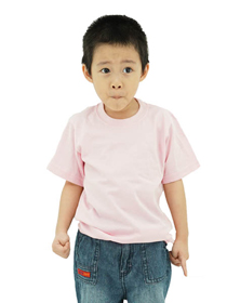 Pink Kids Soft Cotton Tee (Short Sleeve)