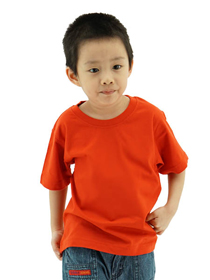 Red Kids Soft Cotton Tee (Short Sleeve)
