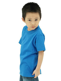 Turquoise Kids Soft Cotton Tee (Short Sleeve)