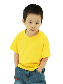 Yellow Kids Soft Cotton Tee (Short Sleeve)