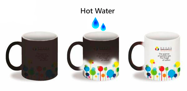 Magic Mug Can Easily Stand Out With Your Logos Slogans Graphic Designs Or Any Unique Text When You Pour In Hot Drink An Ideal For Corporate Gifts