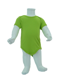 Apple Green Baby Romper Soft Cotton Tee (180gsm Cotton)