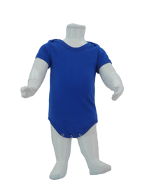 Royal Blue Baby Romper Soft Cotton Tee (180gsm Cotton)