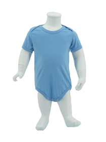 Sky Blue Baby Romper Soft Cotton Tee (180gsm Cotton)