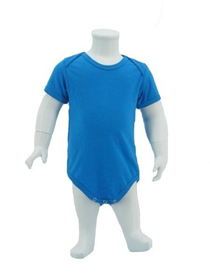 Turquoise Baby Romper Soft Cotton Tee (180gsm Cotton)